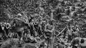 """I could hear the gold whispering in the souls of these men,"" says Brazilian photographer Sebastiao Salgado of a gold mine in Serra Pelada."