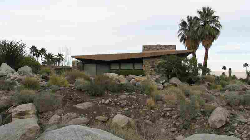 Palm Springs houses like this represent classic midcentury modern style. Interest in the architecture, art and style of decades past is fueling Palm Springs' rising popularity among younger people.