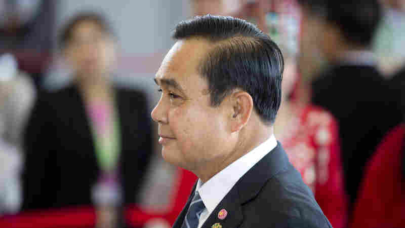 Thai Prime Minister Gen. Prayuth Chan-ocha attending the East Asia summit plenary session at Myanmar International Convention Center in Naypyitaw, Myanmar, in November.