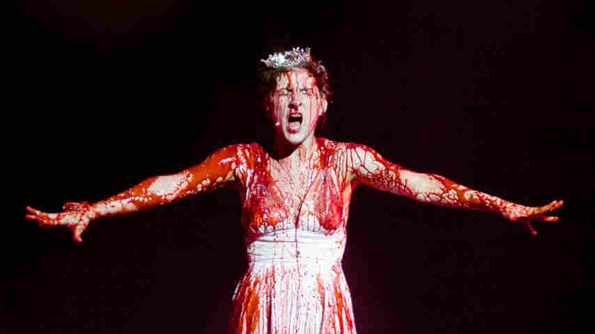 In Carrie The Musical, now being revived at a California theater, Carrie gets a jarringly Disneyesque song before her fateful prom.