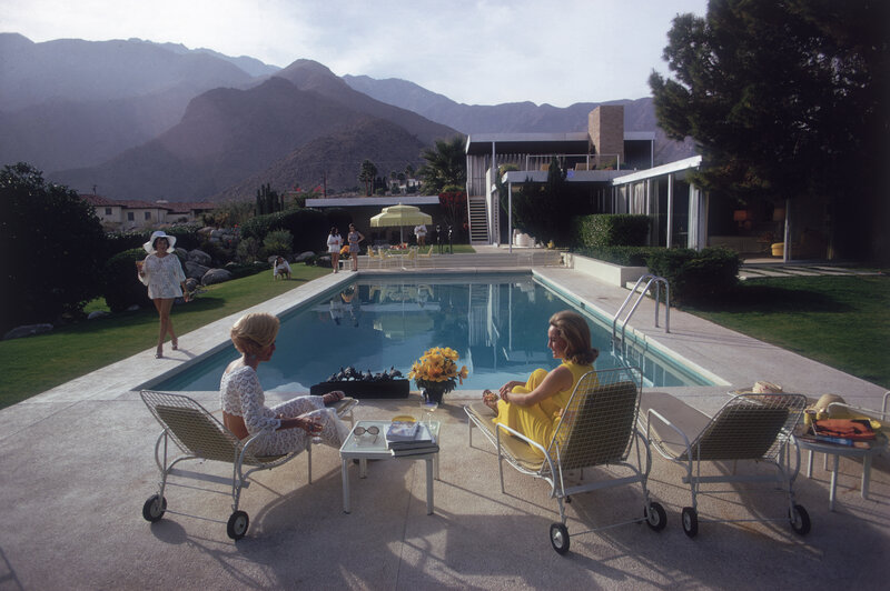 Now a stop on Palm Springs tours, this iconic desert house — shown here in a 1970 photo — was designed by modernist architect Richard Neutra for department store magnate Edgar J. Kaufmann in 1946.