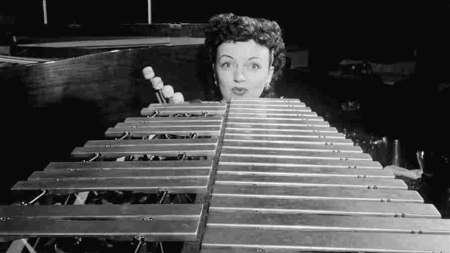 Dardanelle Hadley, pictured here on vibes circa 1938-1948.