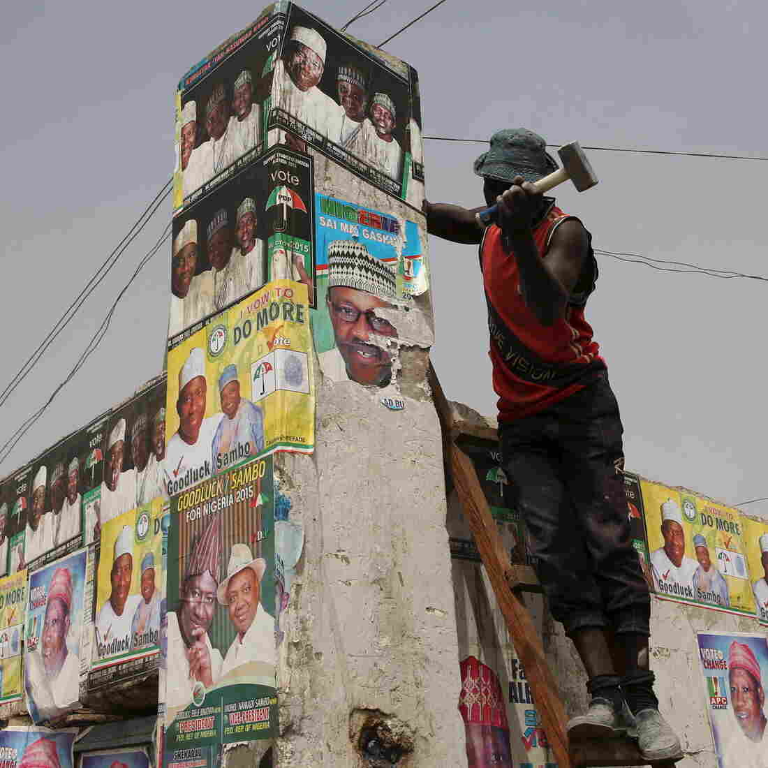 As Nigeria Votes, The Specter Of Boko Haram Hangs Over The Election