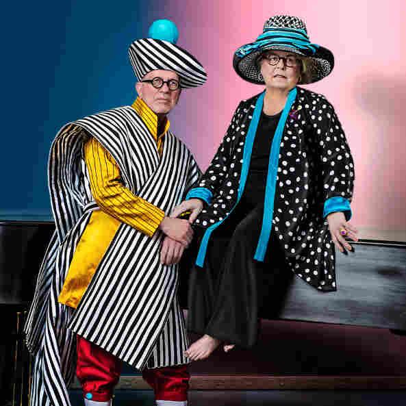 Robert Duncan poses with his wife, Karen, for New York photographer Iké Udé.