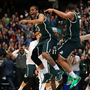 Michigan State, Duke Join Kentucky, Wisconsin In The Men's Final Four