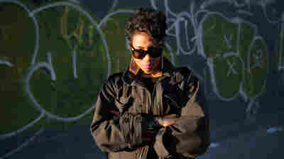 Jean Grae in Brooklyn.
