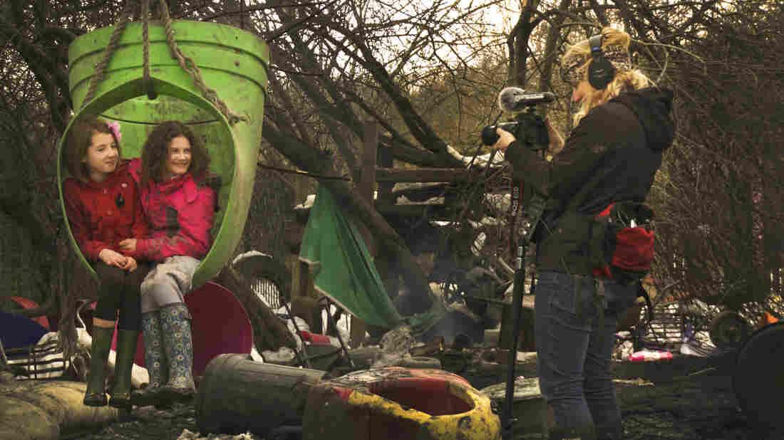 Filmmaker Erin Davis spent three weeks filming at The Land adventure playground in North Wales in 2013.