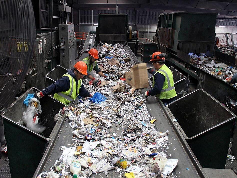With 'Single-Stream' Recycling, Convenience Comes At A Cost | WBUR on