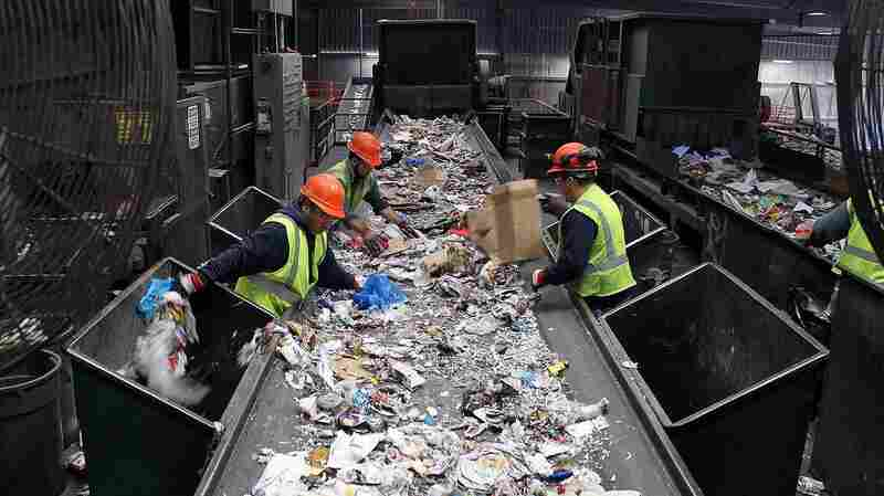With 'Single-Stream' Recycling, Convenience Comes At A Cost