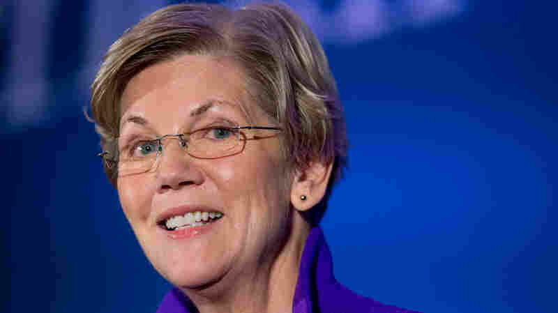 "Sen. Elizabeth Warren talked about 2016 to WBUR's Here & Now: ""What I care about is that everyone who runs for president, who runs for any national office right now, talks about this core set of issues."""