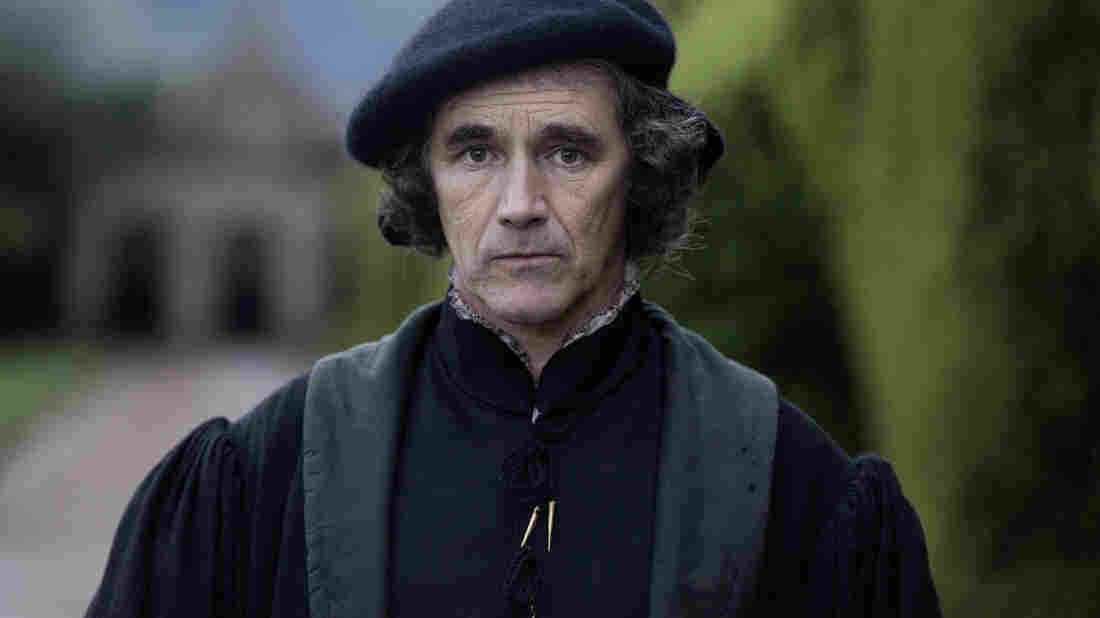 "Actor Mark Rylance, seen here as Thomas Cromwell in Masterpiece's Wolf Hall, views Cromwell as a survivor who knows how to manipulate power to his advantage. ""He has the mind of a chess player,"" Rylance says."
