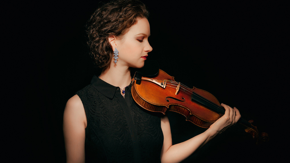 Violinist Hilary Hahn. (Courtesy of the artist)