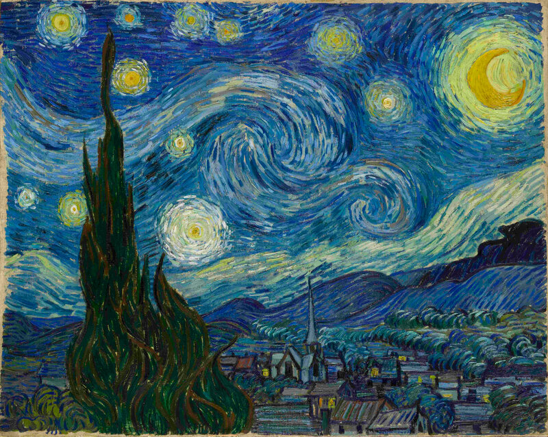 van gogh s turbulent mind captured turbulence 13 7 cosmos and