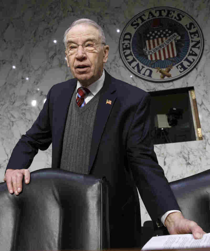 "Senate Judiciary Committee Chairman Charles Grassley, R-Iowa, charged that Hillary Clinton ""probably"" broke the law with her exclusive use of a private email address while secretary of state."