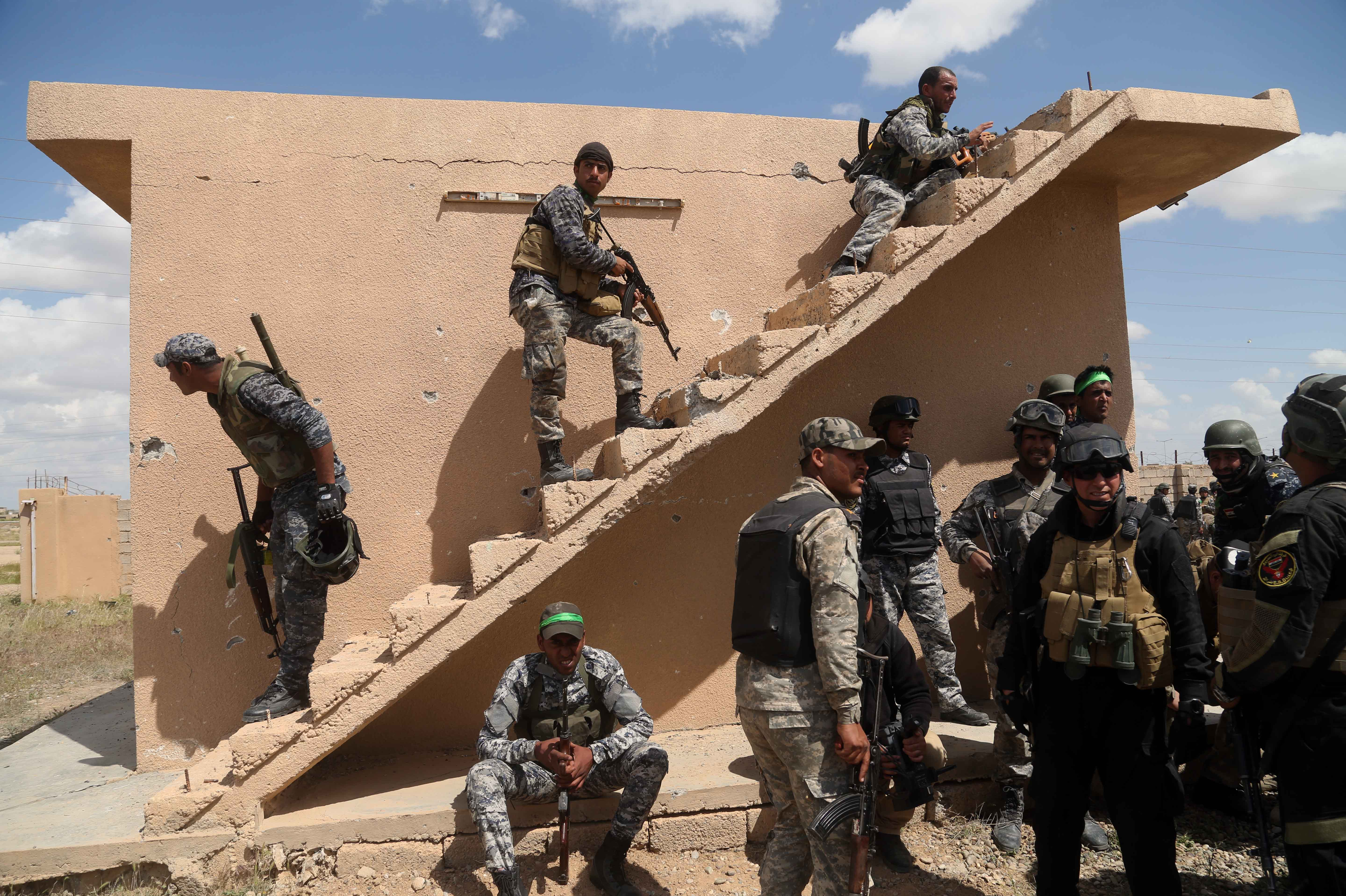 In Battered Tikrit, Iraqi Forces Claim Much, But Not All Of City