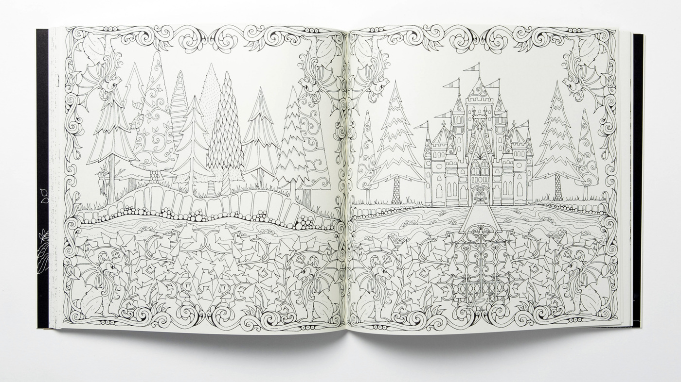 Enchanted Forest Coloring Book Review Interview Johanna Basford Author Of Secret Garden And