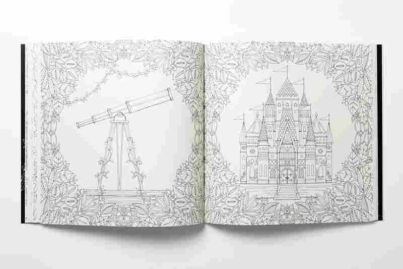 The Enchanted Forest Coloring Book Chronicle Books Enchanted Forest Coloring Book Jo Ann