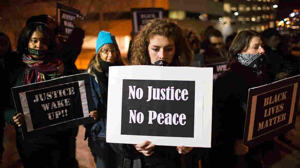 Ferguson Activists Hope That Momentum Sparks A National Movement