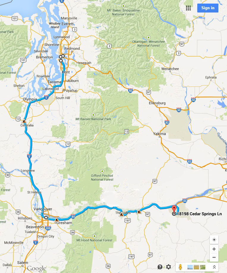 Bears In Oregon Map.Trash Travels One Teddy Bear S Journey Planet Money Npr