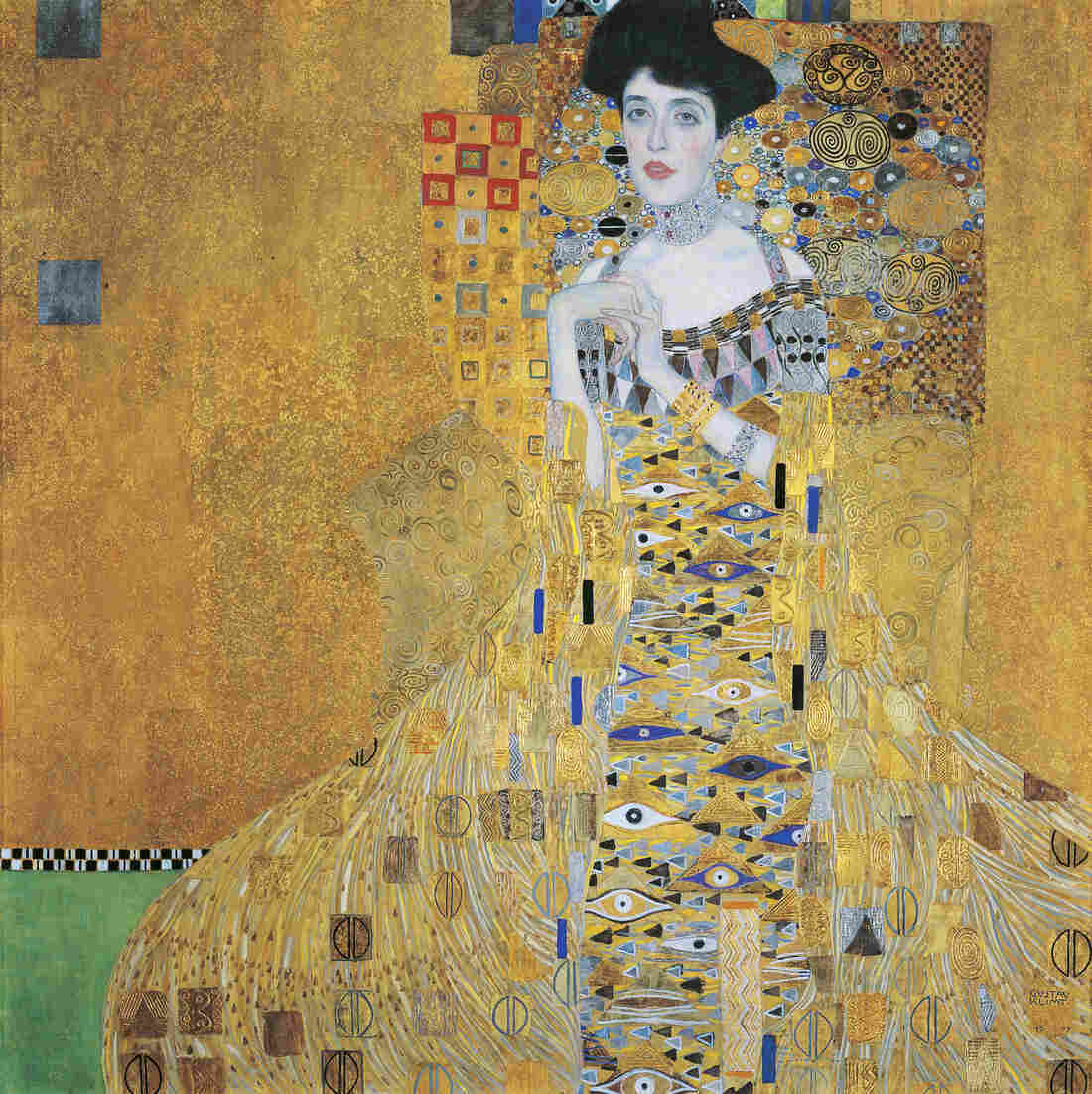 Maria Altmann fought her way to the U.S. Supreme Court to force the Austrian government to give back this painting by Gustav Klimt of her aunt, Adele Bloch-Bauer.