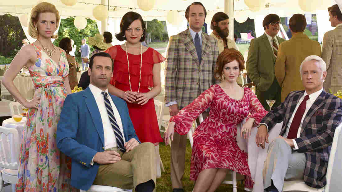 The times, they may be changing — but the cast of AMC's Mad Men find it difficult to change with them.