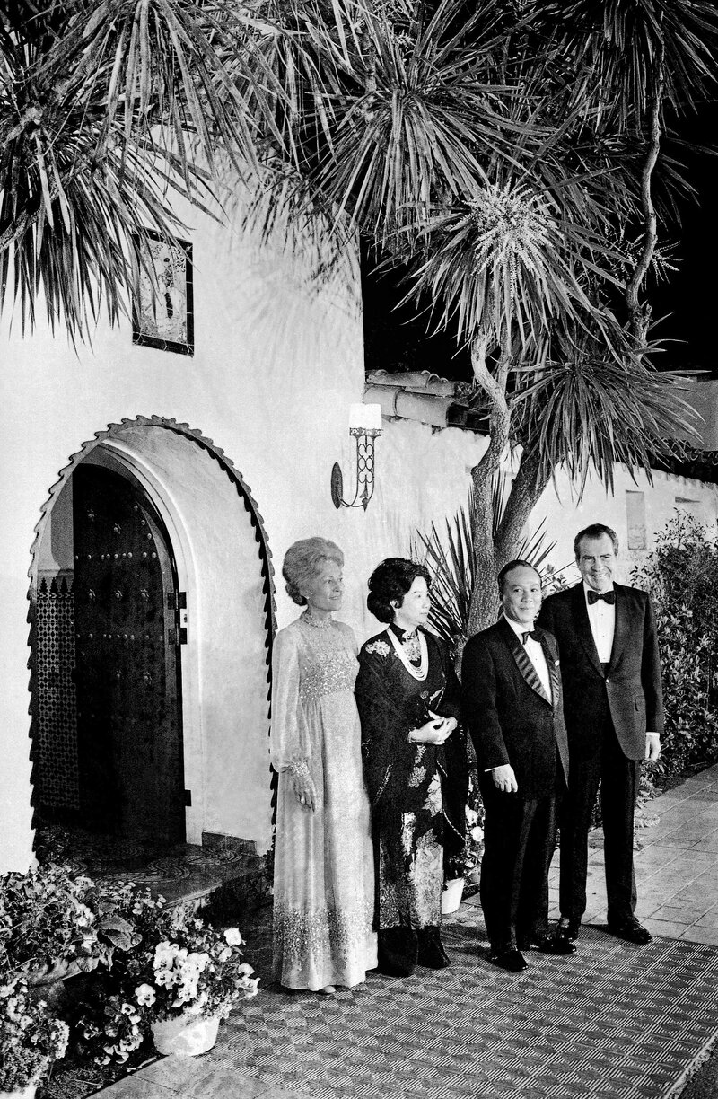 Nixon's 'Western White House' Is Up For Sale : The Two-Way : NPR