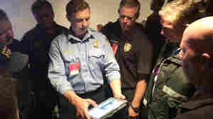 Houston firefighters learn to use a video chat program that will let them consult with an emergency medicine doctor while responding to 911 calls.