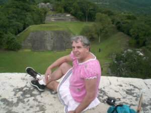 Sissy Goodwin on vacation in Belize.