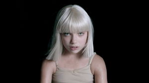 "Maddie Ziegler, in a scene from Sia's video for the song ""Big Girls Cry."""