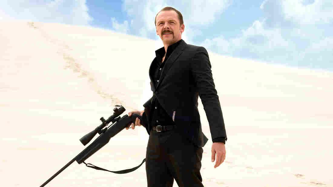 Simon Pegg in Kill Me Three Times.