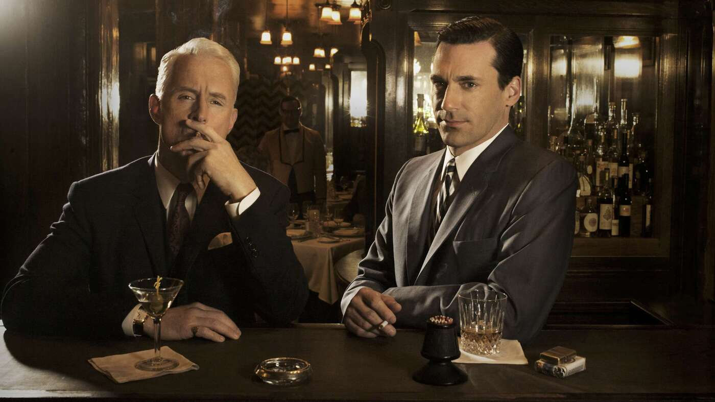 Drinking With Mad Men Cocktail Culture And The Myth Of Don Draper The Salt Npr