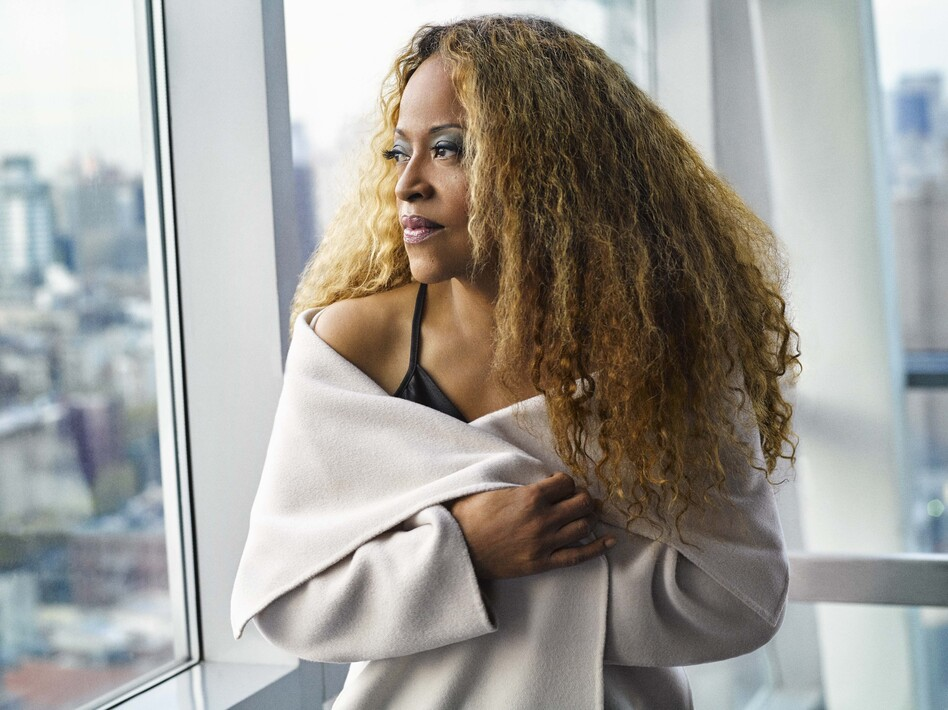 Cassandra Wilson's Billie Holiday tribute album is titled <em>Coming Forth By Day</em>. (Mark Seliger/Courtesy of the artist)