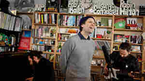 Tiny Desk Concert with Death Cab For Cutie on March 4, 2015.