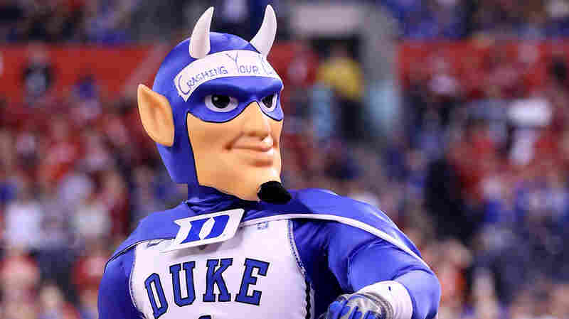 This is the Duke Blue Devil, which is here because Linda chose the photo rather than Stephen.