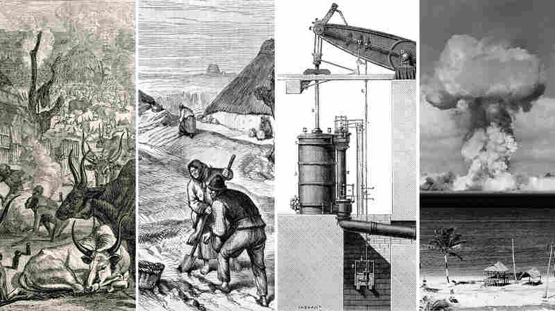 Humans have influenced Earth's history for thousands of years, though some scientists count changes of the last two centuries as especially notable.