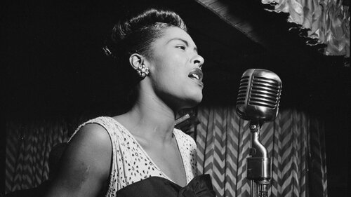 Billie Holiday has become a mythic presence in absentia.