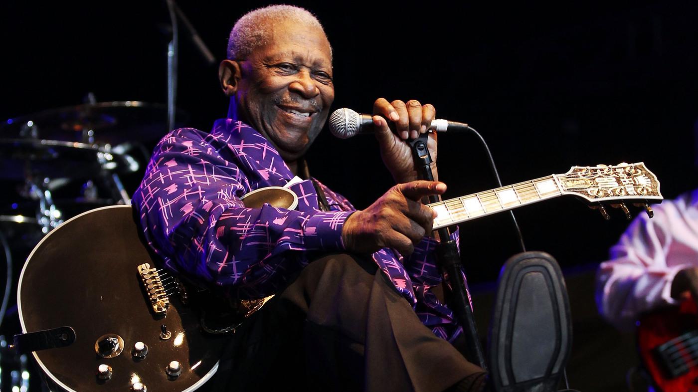 b b king legendary blues guitarist dies at 89 the two way npr. Black Bedroom Furniture Sets. Home Design Ideas