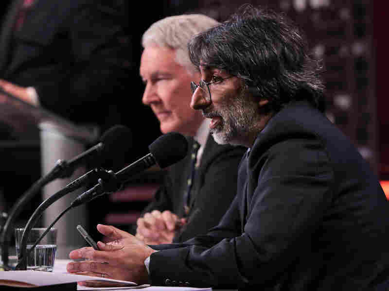 Yale law professor Akhil Reed Amar, with debate partner Philip Bobbitt, argues that the authorization to use military force against al-Qaida, passed by Congress in 2001, applies to the president's current military actions against ISIS.