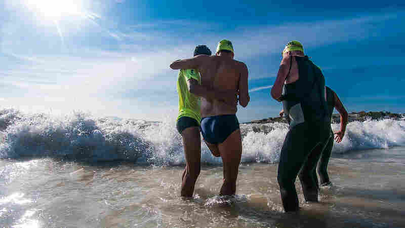 Rio has hosted competitions that include athletes with physical impairments (above: the open water swim at Copacobana beach for the Rei e Rainha do Mar). But there's never been an event on the scale of the Paralympics.