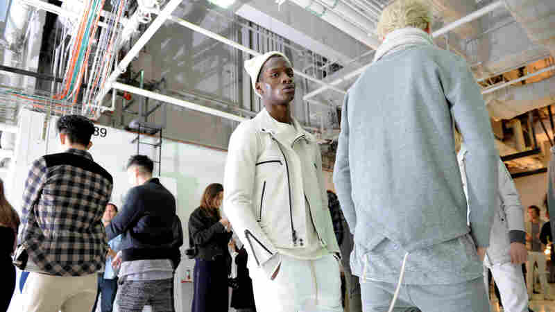 The latest fashion trend for men turns casual sweatpants into designer threads suitable for working professionals. It's called athleisure, and more high-profile retailers are jumping on board.