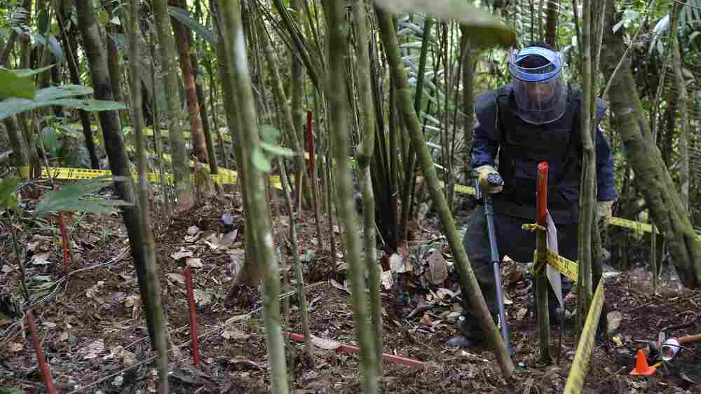 The Second Most Dangerous Country For Land Mines Begins To De-Mine