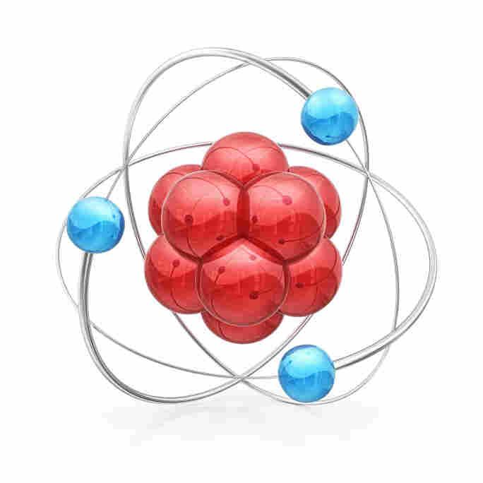 Figure 1. The atom you see in high school textbooks, really, is not an atom.