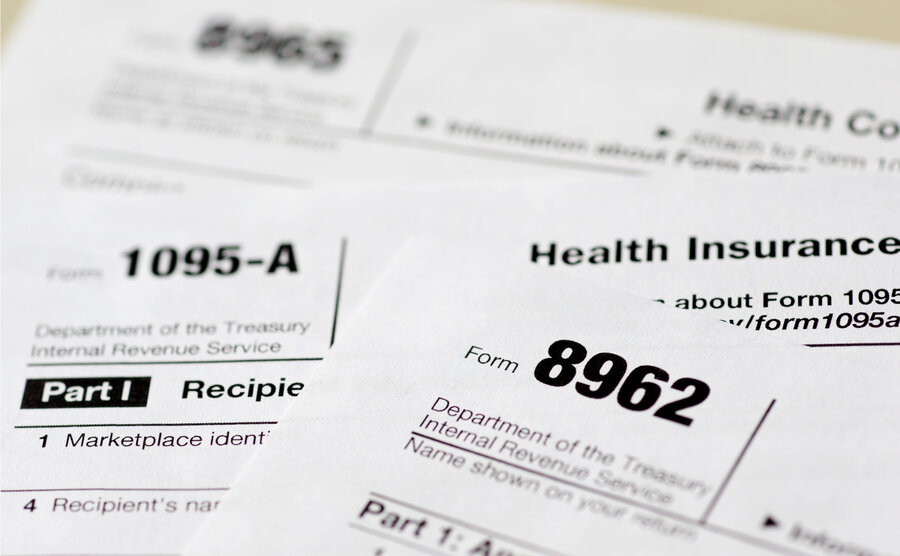 Many Obamacare Policyholders Face Tax Surprises This Year : Shots ...