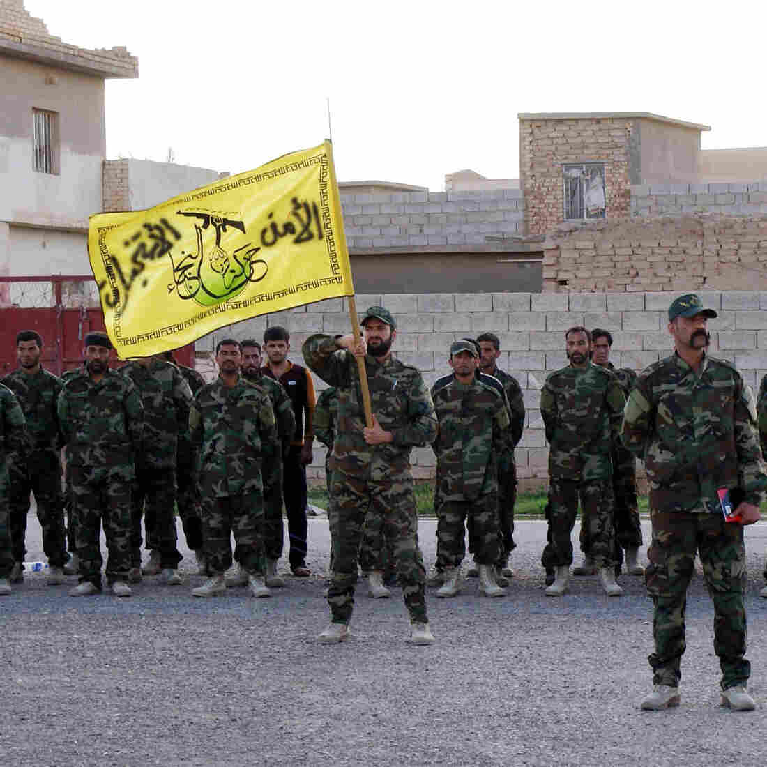 After Retaking Iraqi City, Shiite Militias Accused Of Targeting Sunnis