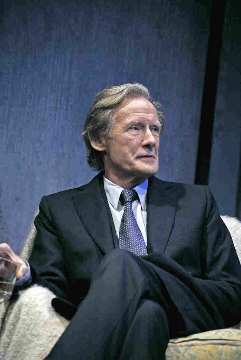 """Bill Nighy is starring a revival of David Hare's 1995 drama Skylight. """"I adore it. It's probably my favorite play,"""" he says."""