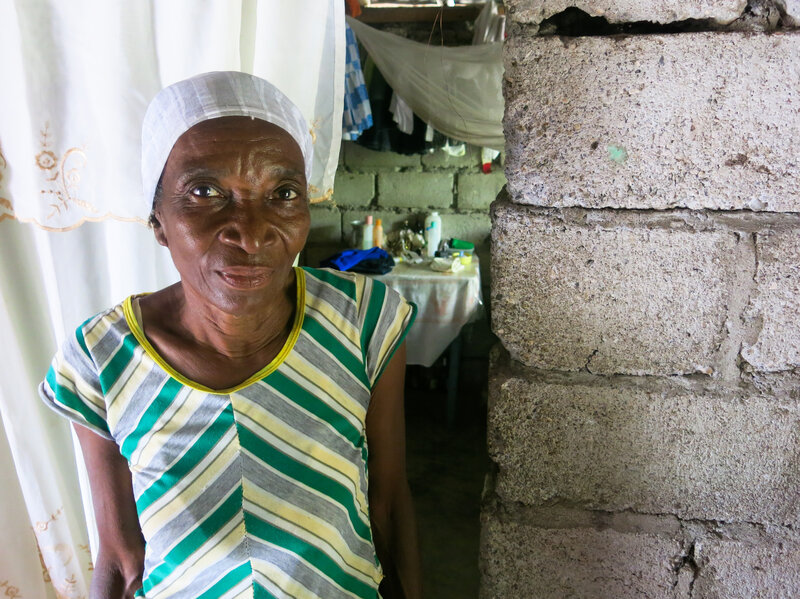 Monique Yusizanna Ouz, 66, is going to have electricity for the first time in her life.