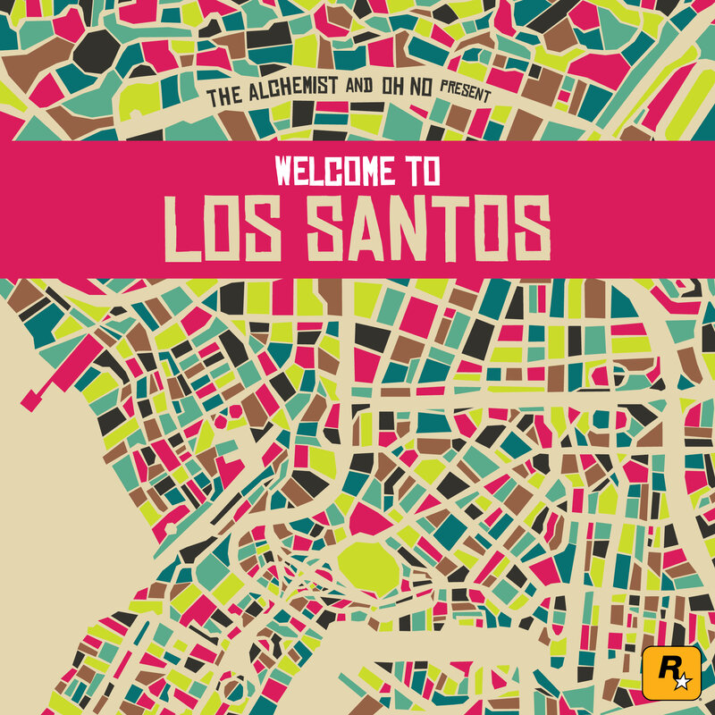 Review: The Alchemist & Oh No, 'Welcome To Los Santos' : NPR