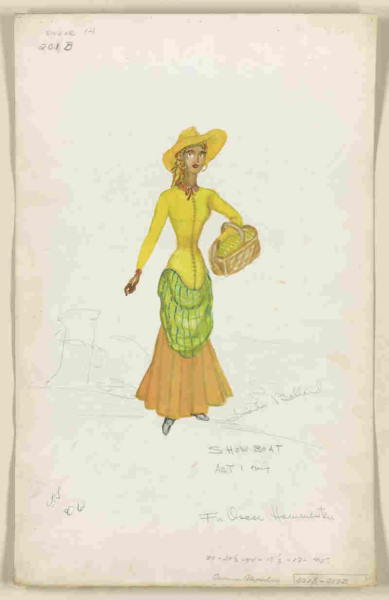 Lucinda Ballard's costume design for the 1946 revival of Show Boat.