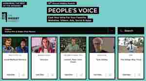 Vote! NPR & Stations On The Ballot For 2015 Webby Awards