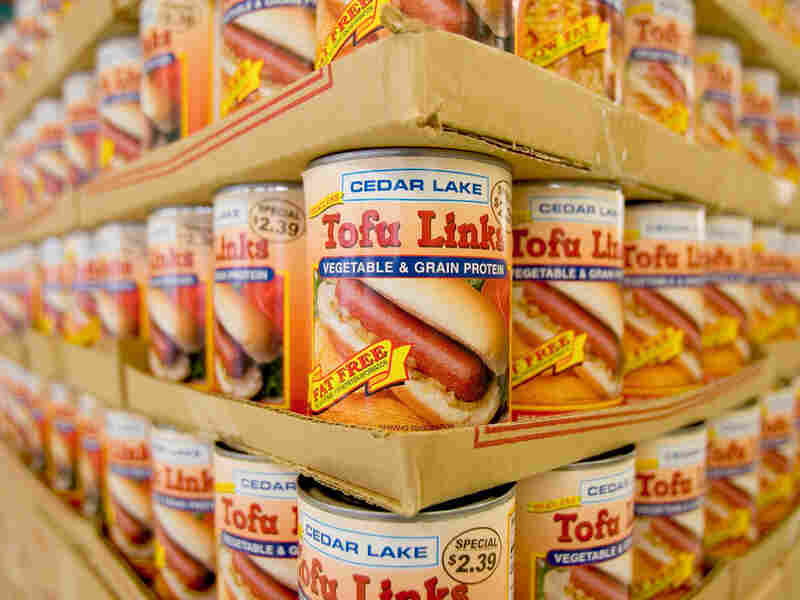 Tofu links sold in Loma Linda, Calif. The Blue Zones research shows that adherents of the Adventist diet, which is mostly plant-based, have lowest rates of heart disease and diabetes in the U.S. and very low rates of obesity.